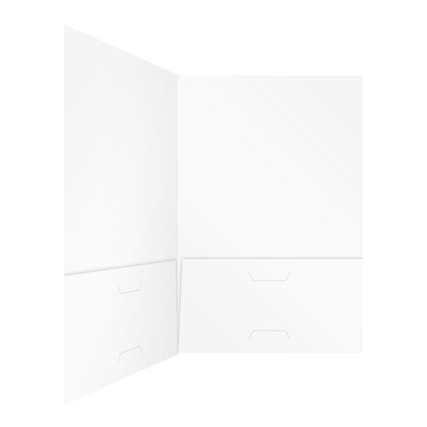 iGo Global White 2-Pocket Folder (Inside Right View)