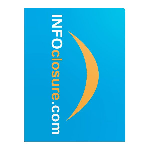 INFOclosure.com Real Estate Listing Folder (Front View)