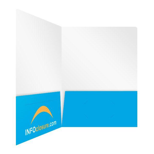 INFOclosure.com Bright Presentation Folder (Inside Right View)