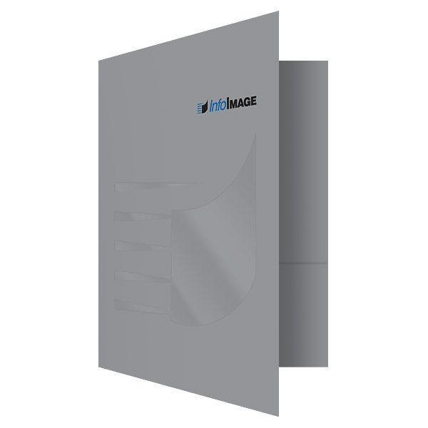 InfoImage Banking Statement Presentation Folder (Front Open View)
