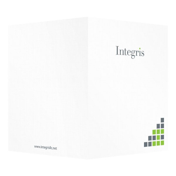 Integris Logo Folder (Front and Back View)