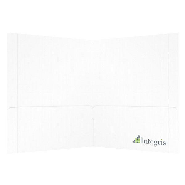 Integris Corporate Pocket Folder (Inside View)