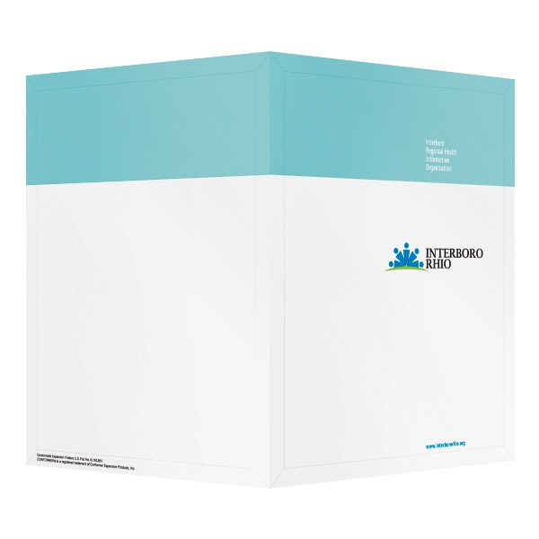 Interboro RHIO Medical File Folder (Front and Back View)