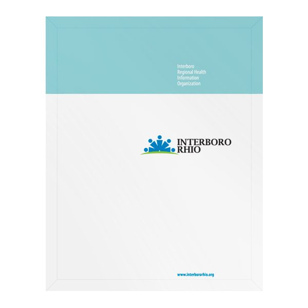 Interboro RHIO Medical Record File Folder (Front View)
