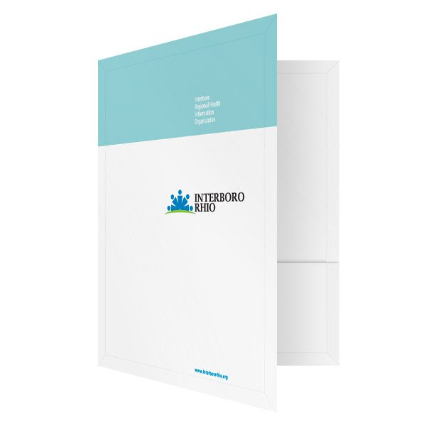 Interboro RHIO Medical Records Folder (Front Open View)