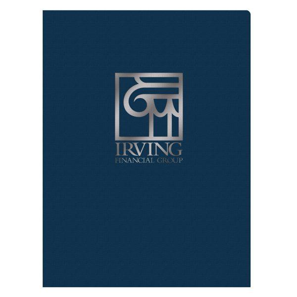 Irving Financial Group Pocket Folder (Front View)