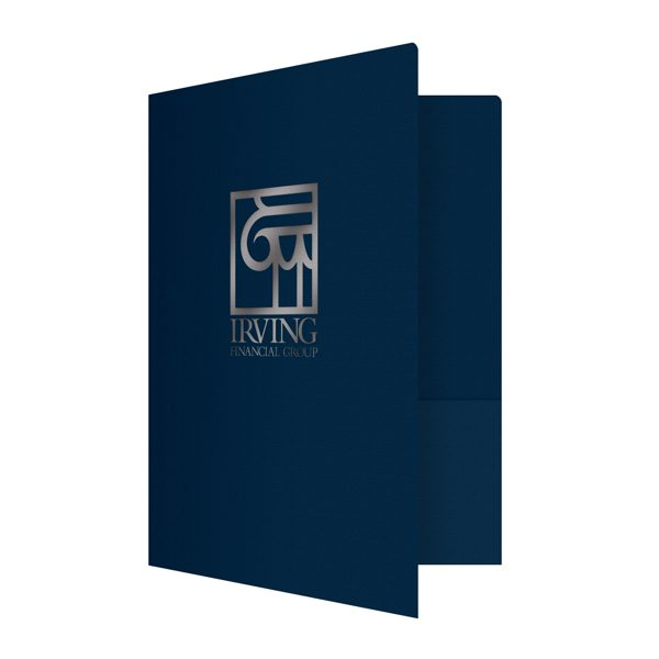 Irving Financial Group Presentation Folder (Front Open View)