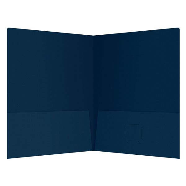 Irving Financial Group 2-Pocket Business Folder (Inside View)
