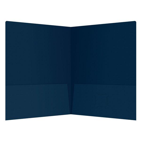Irving Financial Group 2-Pocket Business Folder (Inside View)