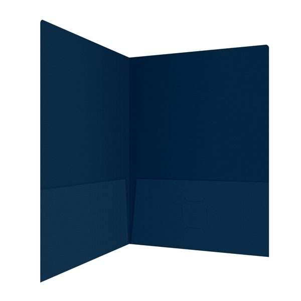 Irving Financial Group Dark Blue Folder (Inside Right View)
