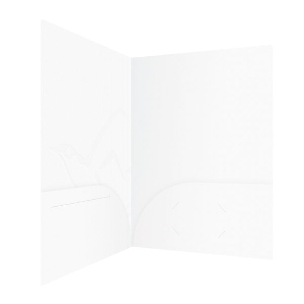 Embossed Island Presentation Folders (Inside Right View)