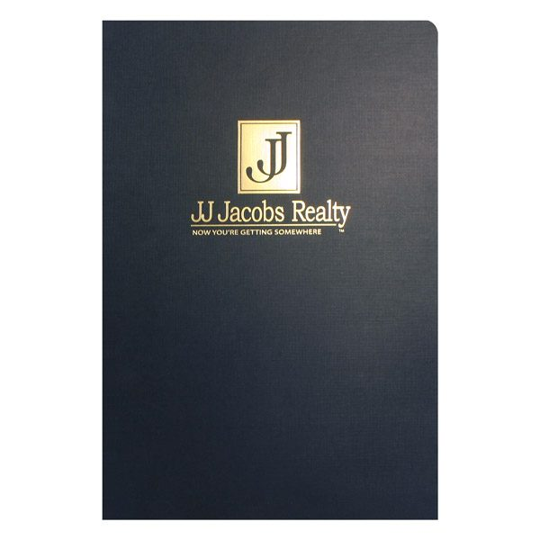 JJ Jacobs Legal Size Real Estate Folder (Front View)