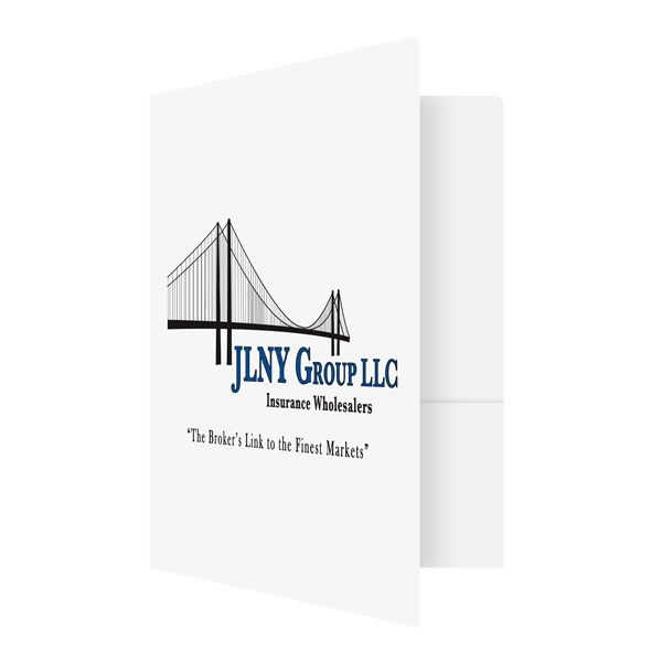 JLNY Group Insurance Business Folder (Front Open View)
