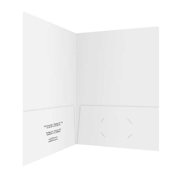 JLNY Group Insurance Policy Folder (Inside Right View)