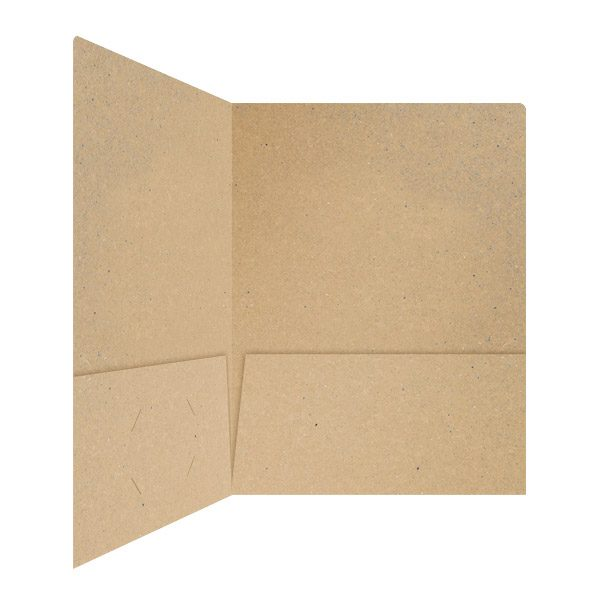 Johnson State College Recycled Pocket Folder (Inside Right View)