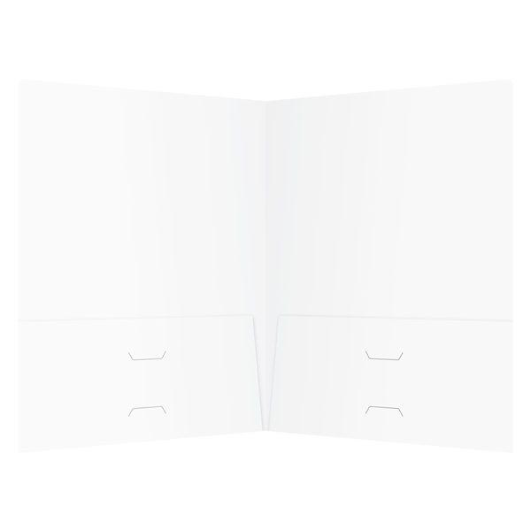 Johnson & Freeman Attorney Business Folder (Inside View)