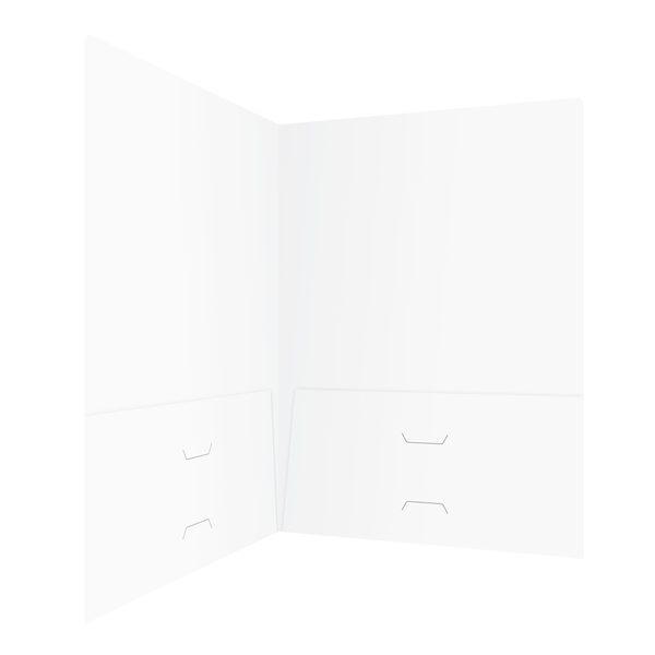 Johnson & Freeman Blank Two Pocket Folder (Inside Right View)
