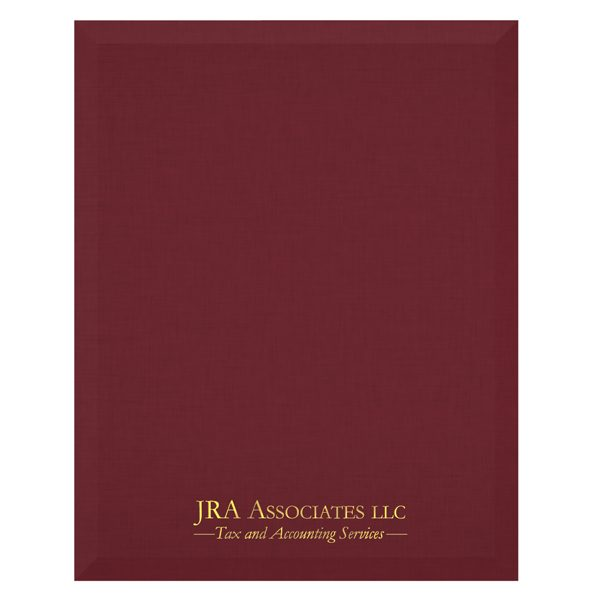 JRA Associates Tax & Accounting Services Folder (Front View)