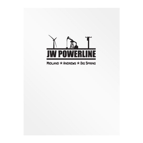 JW Powerline Texas Presentation Folder (Front View)