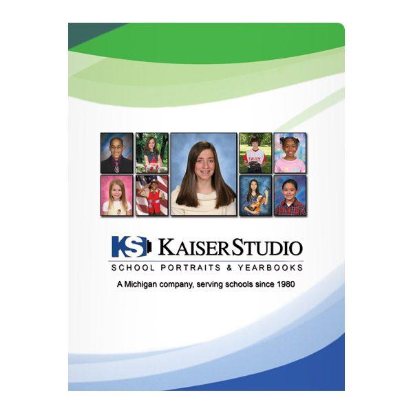 Kaiser Photography Studio Presentation Folder (Front View)