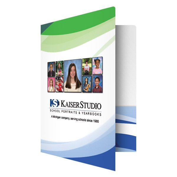 Kaiser Studio Photography Business Folder (Front Open View)