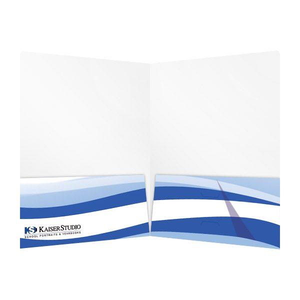 Kaiser Studio School Portraits & Yearbooks Folder (Inside View)