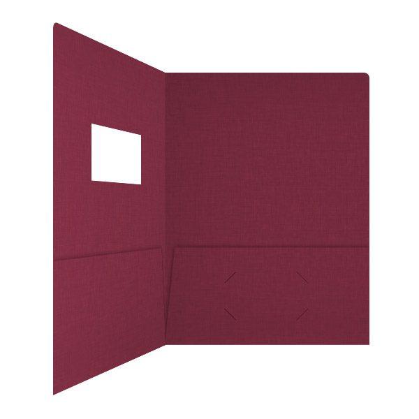 Karen Simmons 2-Pocket CPA Folder (Inside Right View)