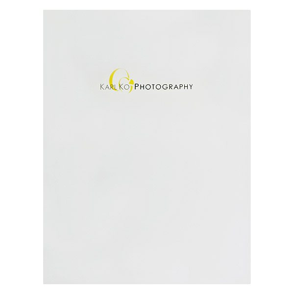 Karl Ko Wedding Photography Folder (Front View)