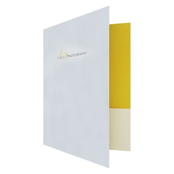 Karl Ko Wedding Pocket Folder (Front Open View)