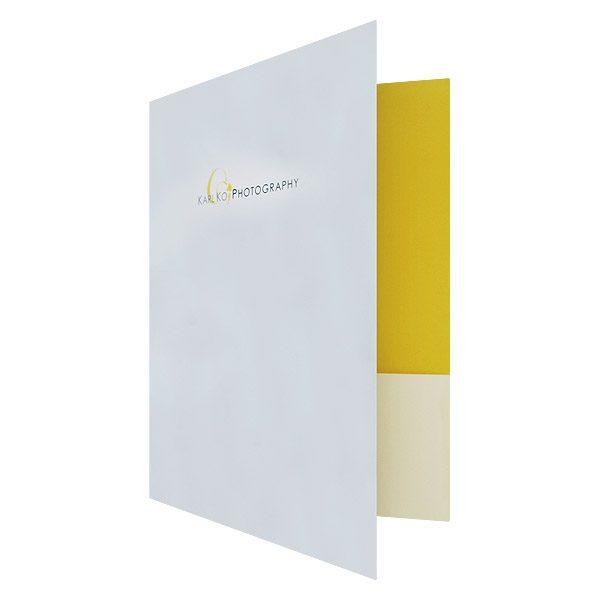 Karl Ko Wedding Pocket Folder (Front Open View)