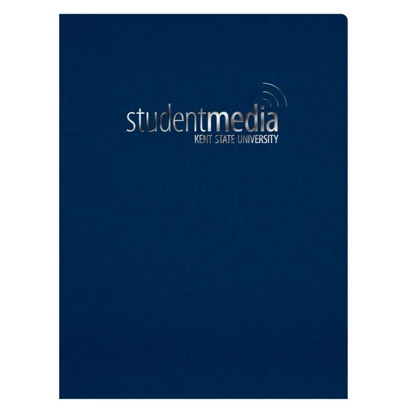 Kent State University Linen Presentation Folder (Front View)