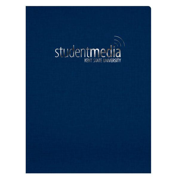 Kent State University Linen Presentation Folder (Front View)