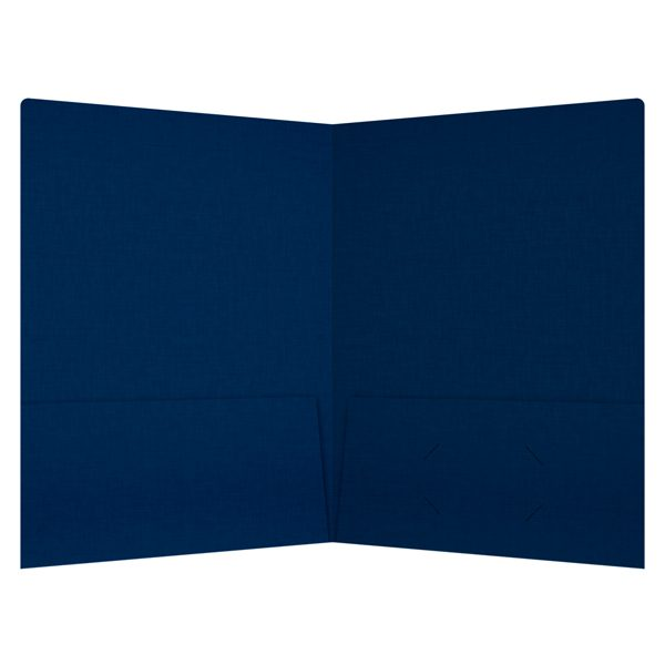 Kent State University Linen Pocket Folder (Inside View)