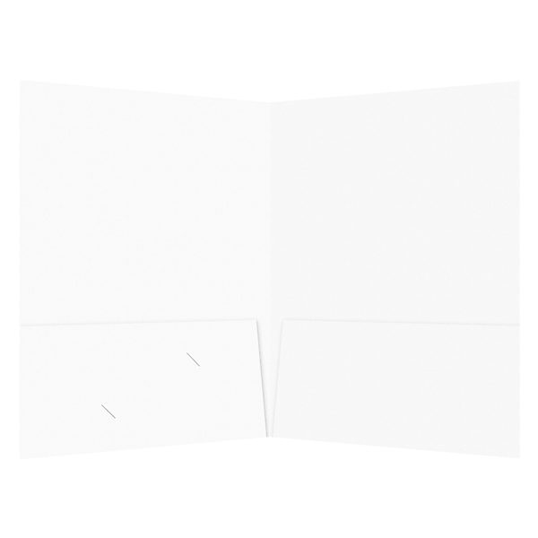 Kentucky Bride Business Pocket Folder (Inside View)