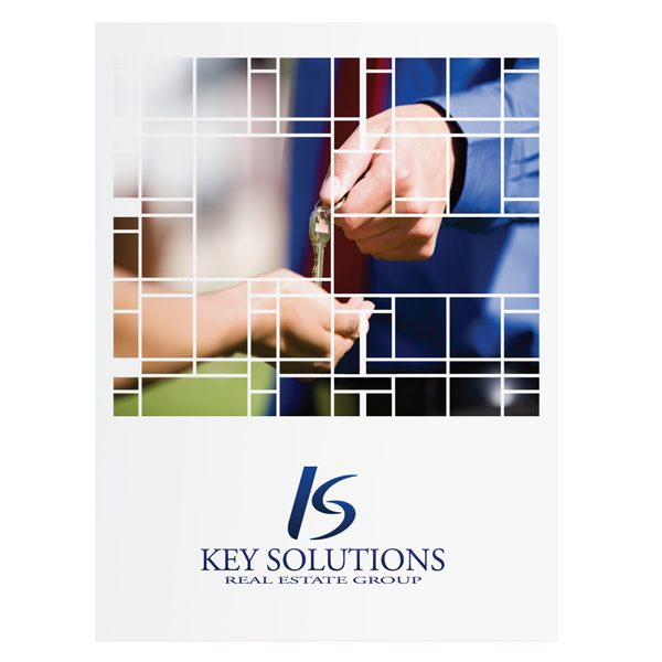 Key Solutions Real Estate Transaction Folder (Front View)
