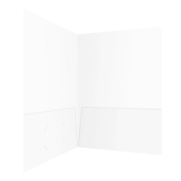 Key Solutions Blank Interior Folder (Inside Right View)