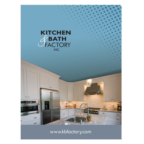 Folder Design: Folders with Company Logo for Kitchen & Bath Factory