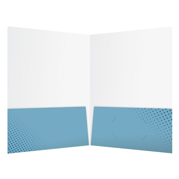 Kitchen & Bath Factory, Inc. 2-Pocket Business Folder (Inside View)