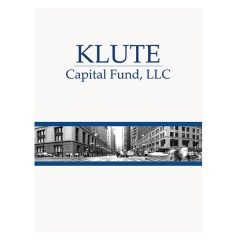 Klute Capital Fund Glossy Logo Folder (Front View)