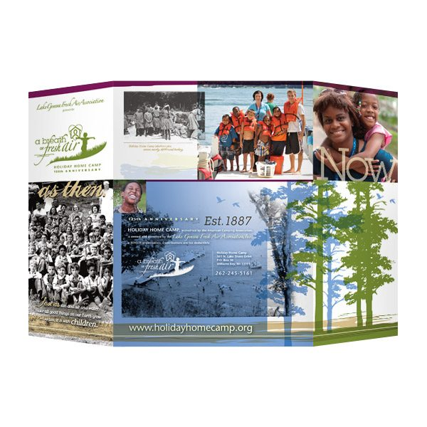 Lake Geneva Camp Kids Pocket Folder (Back View)