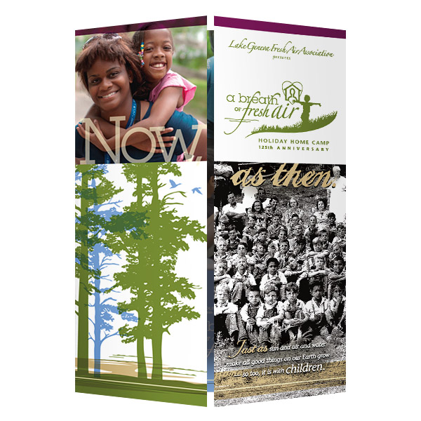 Lake Geneva Summer Camp Presentation Folder (Front View)