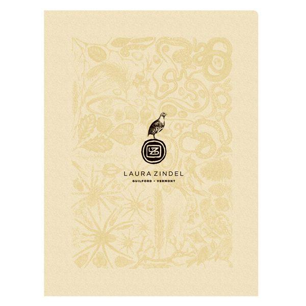 Laura Zindel Fine Art CD/DVD Presentation Folder (Front View)