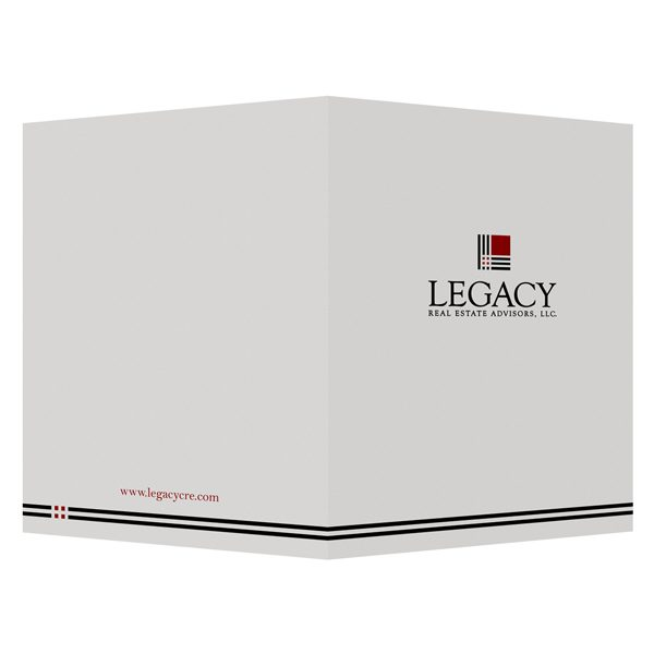 Legacy Real Estate Presentation Folder (Front and Back View)