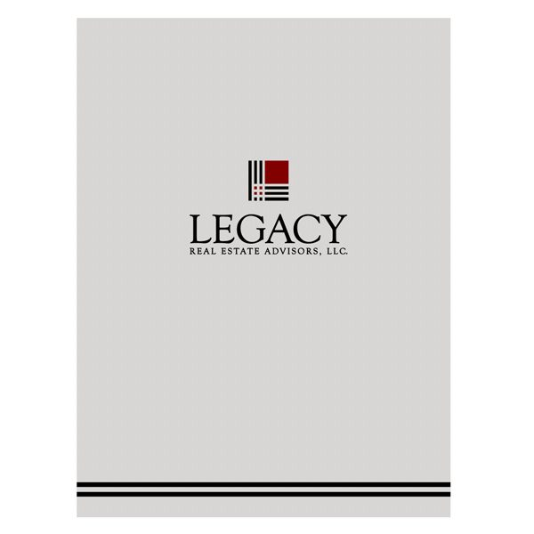 Legacy Real Estate Closing Folder (Front View)