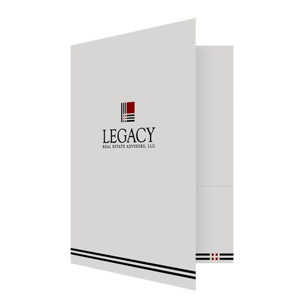 Legacy Real Estate Folder (Front Open View)