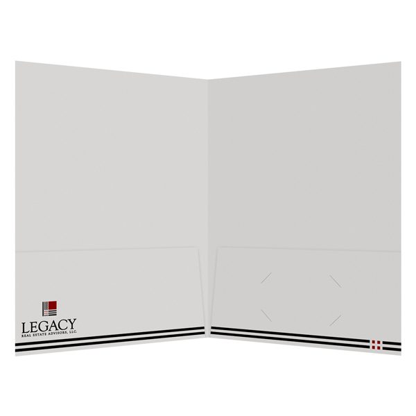 Legacy's Folder for Closing Real Estate Deals (Inside View)
