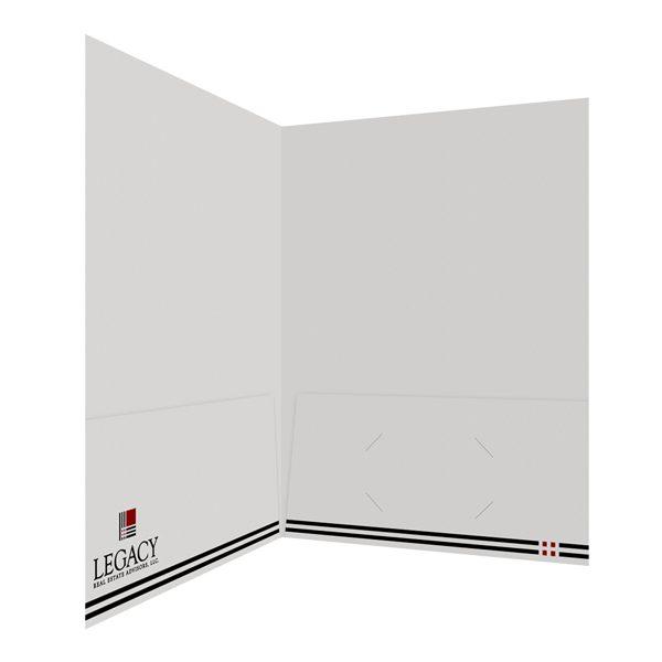 Legacy 2-Pocket Real Estate Folder (Inside Right View)