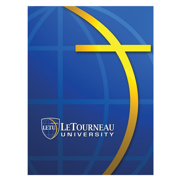 LeTourneau Christian University Folder (Front View)
