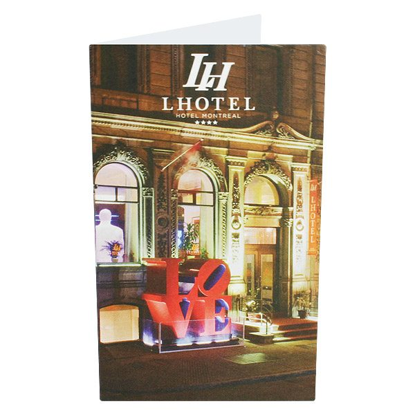 LHotel Hotel Key Card Holder (Front View)