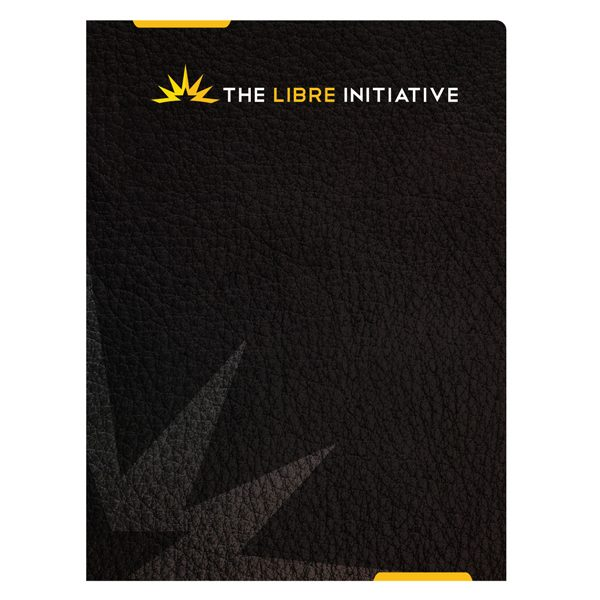 Libre Initiative Political Presentation Folder (Front View)